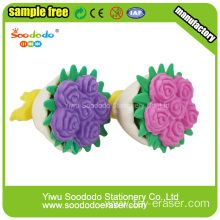 Promotional Beautiful Flower Erasers