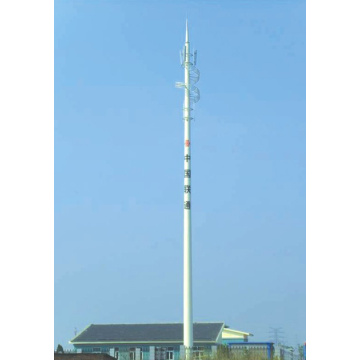 Goods high definition for Telecommunication Tower Telecom Steel Monopole supply to Greece Supplier