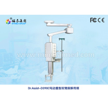 Electric double arm anesthetic medical pendant