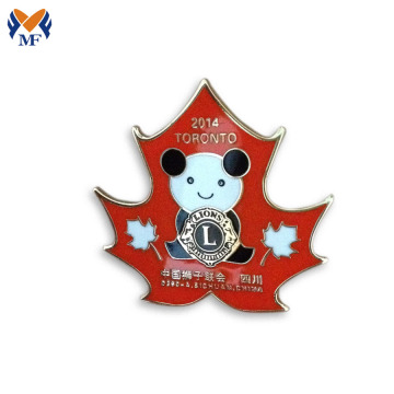 Lovely lapel enamel pin for kids