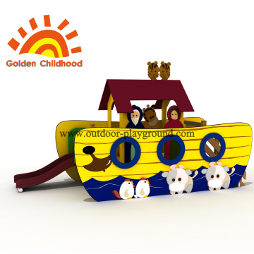 Ship With Animal Outdoor Playground Equipment For Sale