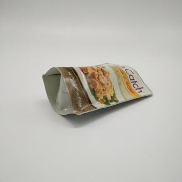 High Barrier Laminated Plastic Standing Retort Pouch