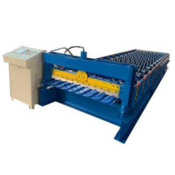 Uzbekistan Trapezoidal metal color roofing forming machine