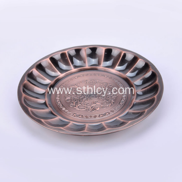 Stainless Steel Decoration Candy Dry Food Plate