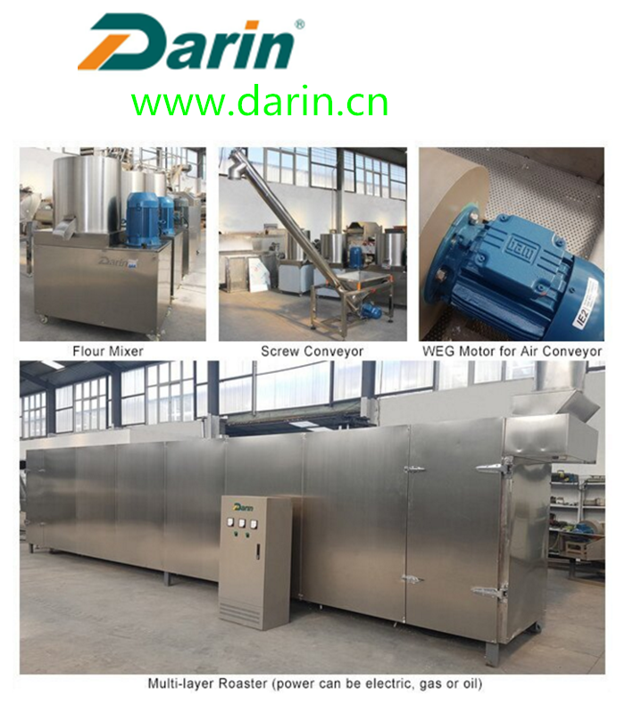 Continuous & automatic Dog Food Extruder Machine