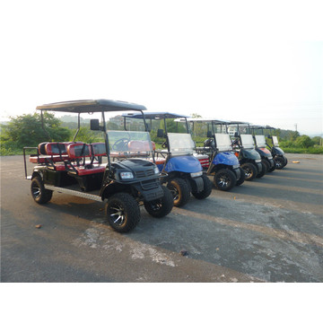 factory 4 seater gas or battery powered golf carts for sale
