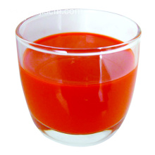 Newly produced goji berry juice
