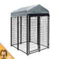 Heavy duty metal chicken run coop walk in run for rabbit ducks hens with roof in 6 size