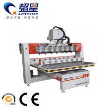 China for Rotary Material Working Machine Rotary CNC Router Machine with Multi Heads supply to China Manufacturers