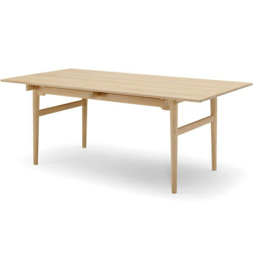 High Quality for Mdf Wood Dining Table Replica rectangle wegner CH327 wood dining table supply to Japan Suppliers