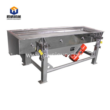 linear separator machine composite spring