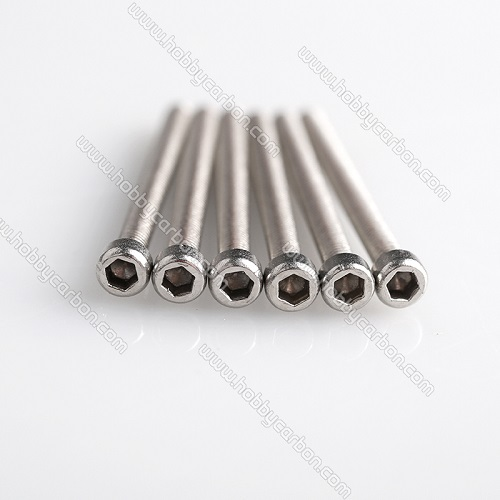 Half thread stainless steel socket head screw