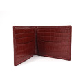 2019 Wholesale Stylish Style Crocodile Leather Mens Wallet