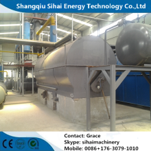 Excellent quality price for Waste Oil Recycling Diesel Plant Waste Motor Oil Distillation Plant export to Uruguay Wholesale