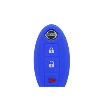 100% Original Factory for Nissan Silicone Key Fob Cover custom silicone car key cover for Nissan supply to India Exporter