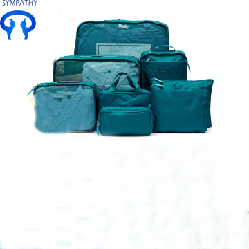 Custom wash 8 pieces of travel accessories bag