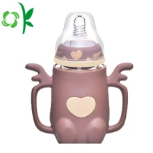 Silicone Baby Feeding Bottle Bpa Free Sleeve Protector