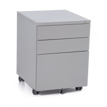 Metal mobile drawer pedestal