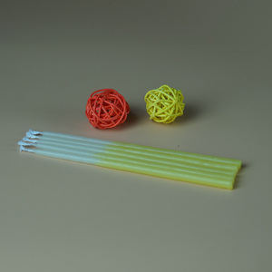 Hand-dipped 100% pure Beeswax birthday candles