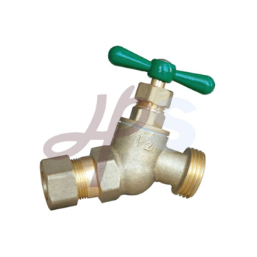 Brass/Bronze Garden Valves with Steel Wheel