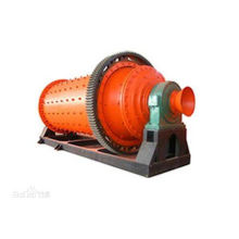 Wind discharge ball grinder