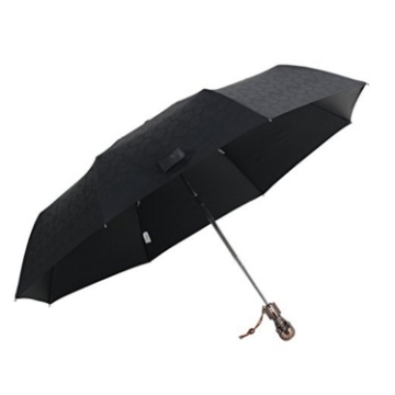Three Folding metal Skull Umbrella Halloween application