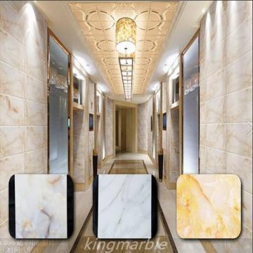 PVC Wall Marble Panel For Interior Decoration