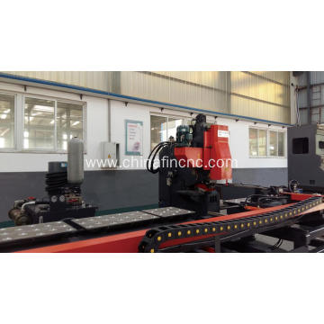Knife plate knife angle compound drilling machine