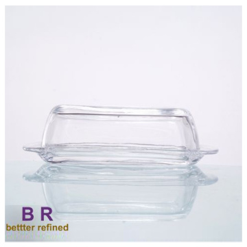 Wholesale Vintage Glass Butter Dish