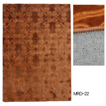 Polyester Wall to Wall Carpet with Embossing