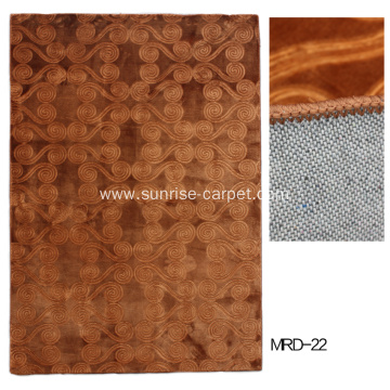 wall to wall carpet with embossing