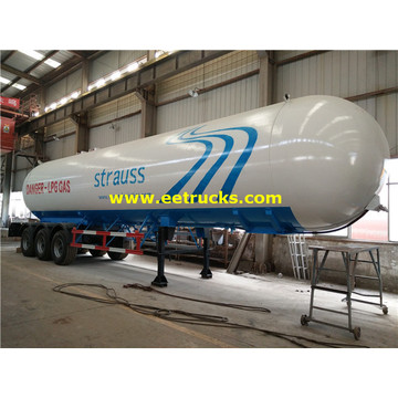 15000 Gallons LPG Gas Delivery Tanker Trailers