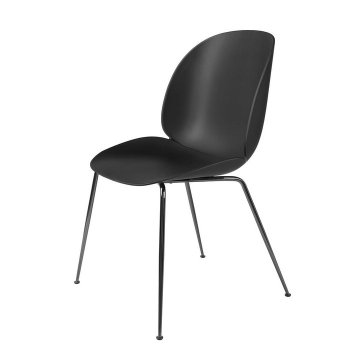 Plastic replica gubi beetle chair without upholstery