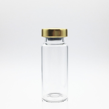 8ml Sterile Serum Vials Gold Cap
