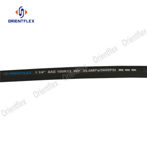 Steel wire sprial hydraulic hose