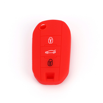 Peugeot 508 3008 Colorful Silicone Car Key Cover