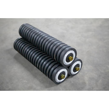 Impact Rubber Conveyor Idler