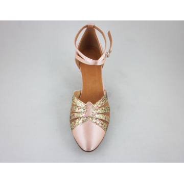 Satin dance shoes women