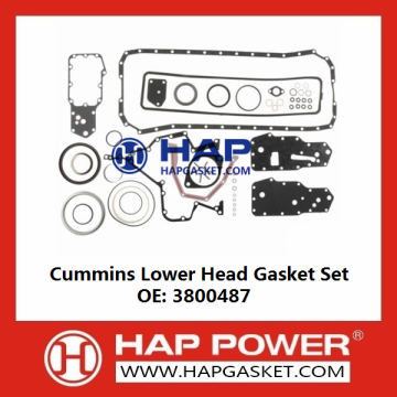 Cummins Lower Head Gasket Set 3800487