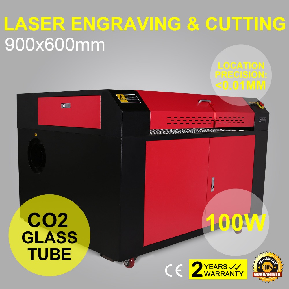 100w Co2 Laser Engraving Machine 900x600mm Usb 3