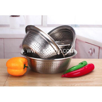Stainless Steel Fruits and Vegetables Drain Basin