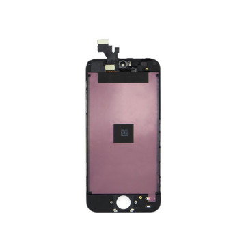 I-iPhone 5 I-LCD Ebonisa Isikrini Sokuthinta I-Digitizer Black