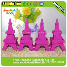 rubber eraser manufacturers 2014 new design Eiffel Tower eraser