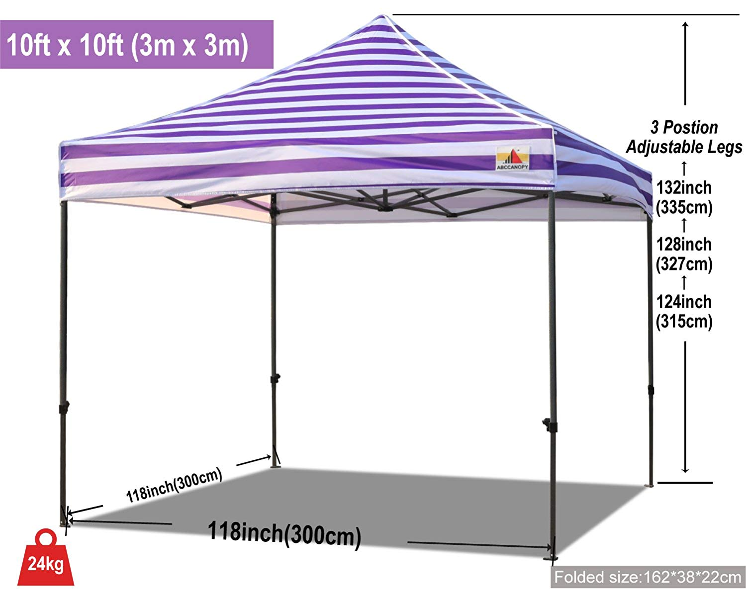 10x10 canopy tent with logo