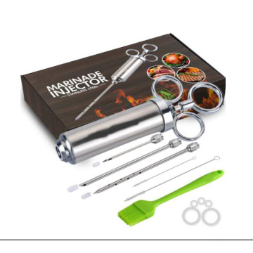 Stainless Steel Meat Injector Syringe