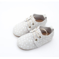 Kids Oxford Shoes Leather Rubber Sneaker