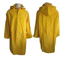 100% Waterproof high quality PVC Raincoat