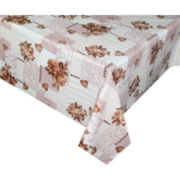 Elegant Tablecloth with Non woven backing for Bedroom