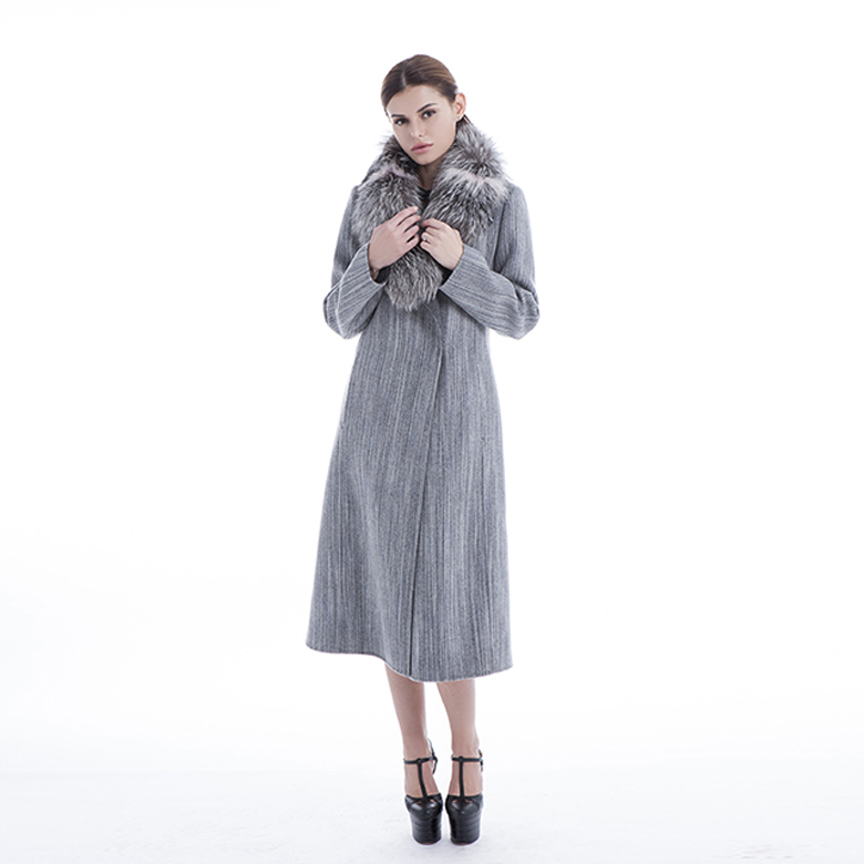 New cashmere overcoat in autumn and winter