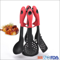 6 Piece household cooking nylon premium kitchen utensils